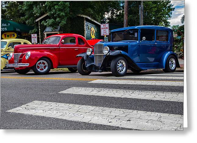 Car Photography Greeting Cards - Classic Lines Greeting Card by Tim Stanley