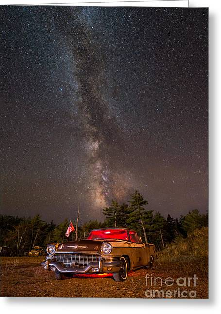 Are We Alone Greeting Cards - Classic Milky Way Greeting Card by Michael Ver Sprill