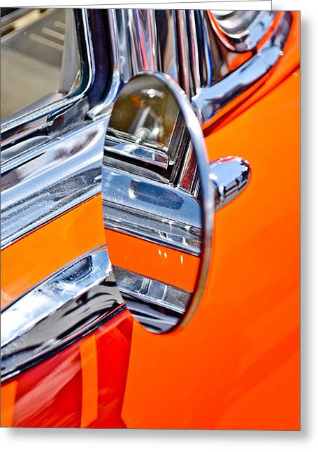 Autofocus Photographs Greeting Cards - Classic Mirror Greeting Card by Phil