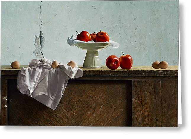 Photorealism Greeting Cards - Classic Nr 5 Greeting Card by Mark Van crombrugge