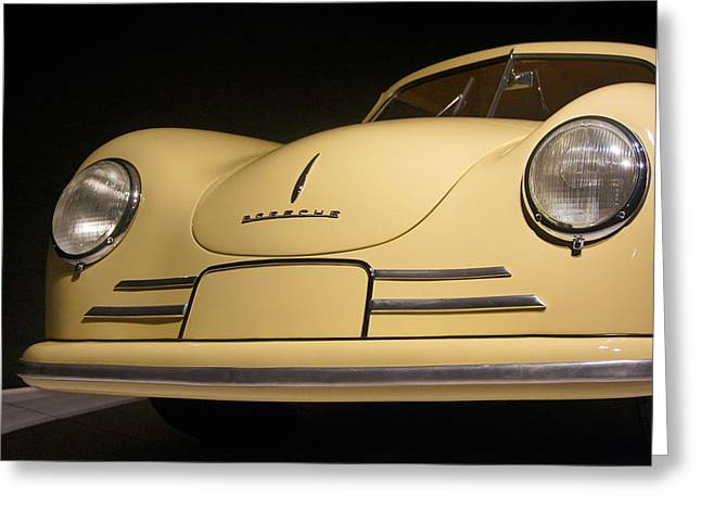 Classic Porsche 356 Greeting Cards - Classic Porsche Greeting Card by Mike McGlothlen