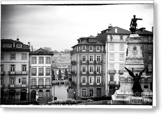 River View Greeting Cards - Classic Porto Greeting Card by John Rizzuto
