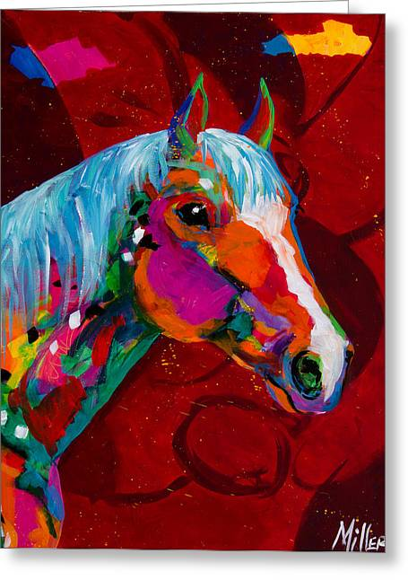 Equine Artist Greeting Cards - Classic Quarter Greeting Card by Tracy Miller