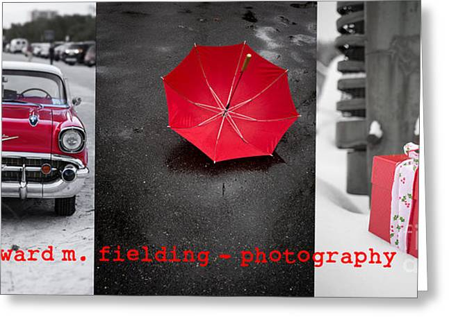 Oldtimer Greeting Cards - Edward M. Fielding Photography Greeting Card by Edward Fielding