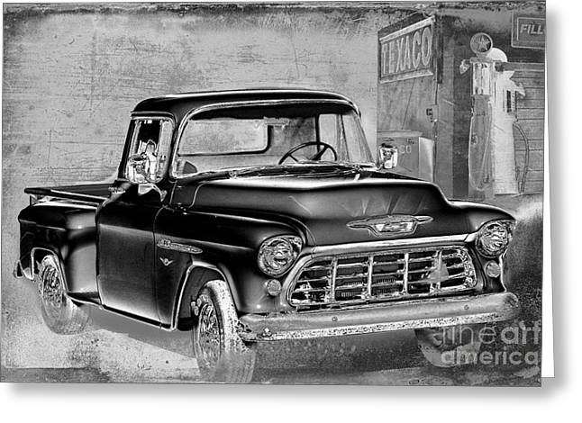 Chevrolet Pickup Truck Digital Greeting Cards - Classic Ride Greeting Card by Betty LaRue