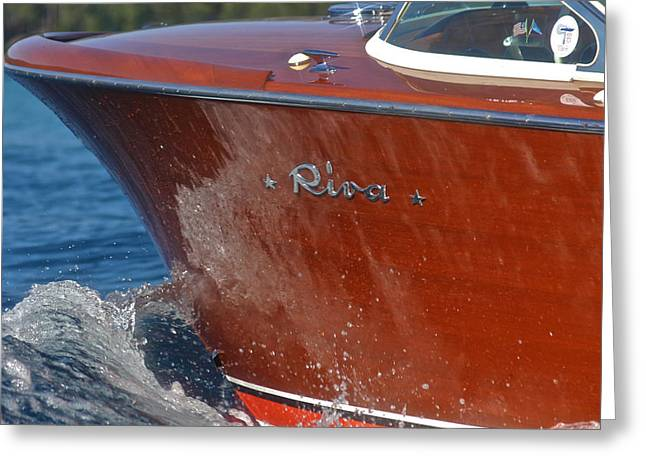Maritime Classics Greeting Cards - Classic Riva Greeting Card by Steven Lapkin