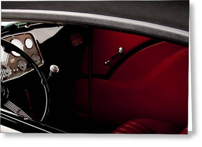 Steering Greeting Cards - Classic Style Greeting Card by Steven Milner
