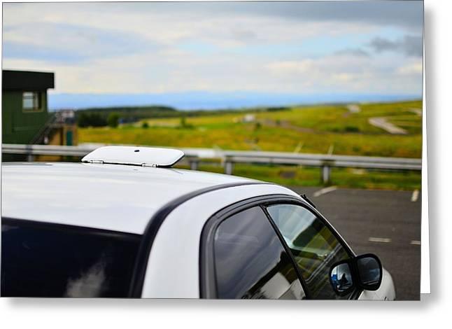 Prodrive Greeting Cards - Classic Subaru  Greeting Card by Phil Kellett