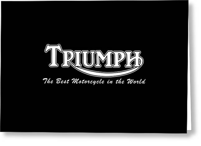 Thunderbird Greeting Cards - Classic Triumph Phone Case Greeting Card by Mark Rogan
