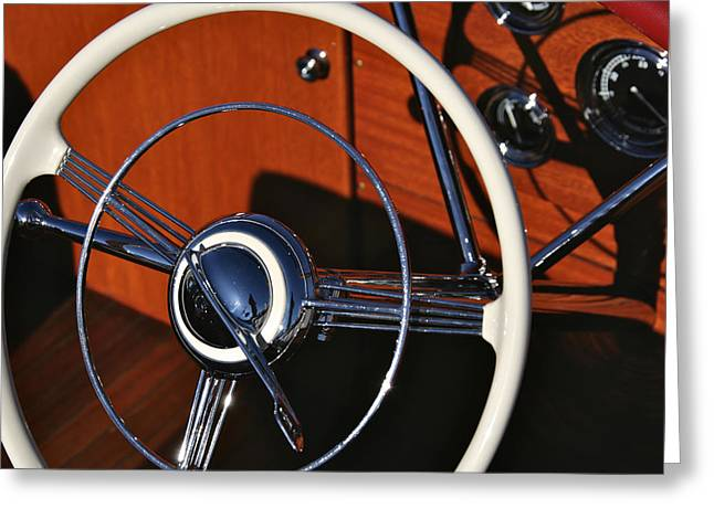 Classic Wheel Greeting Card by Steven Lapkin