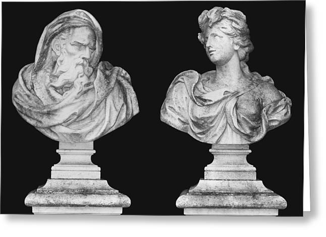 Garden Statuary Greeting Cards - Classics Greeting Card by Kristin Elmquist