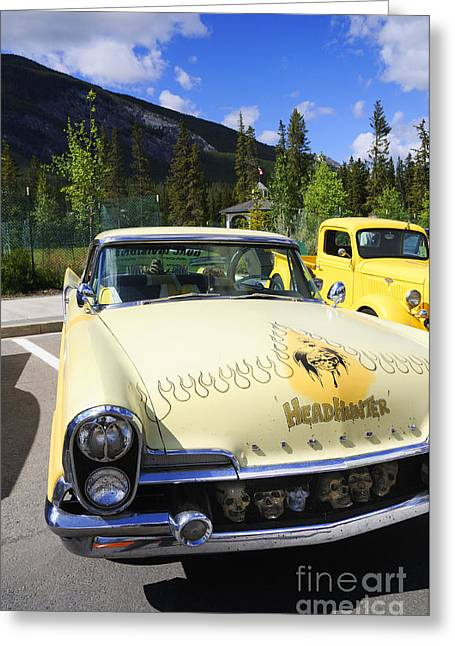 Rally Greeting Cards - Classy Chassis or What Greeting Card by Brenda Kean