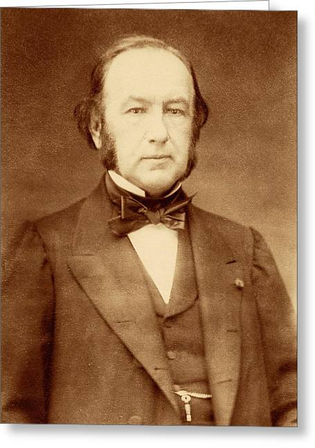 Claude Bernard Greeting Card by American Philosophical Society