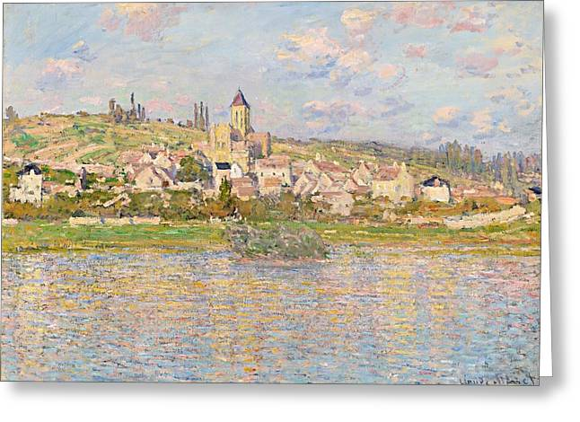 Vetheuil Greeting Cards - Claude Monet Vetheuil 1879 Greeting Card by Movie Poster Prints