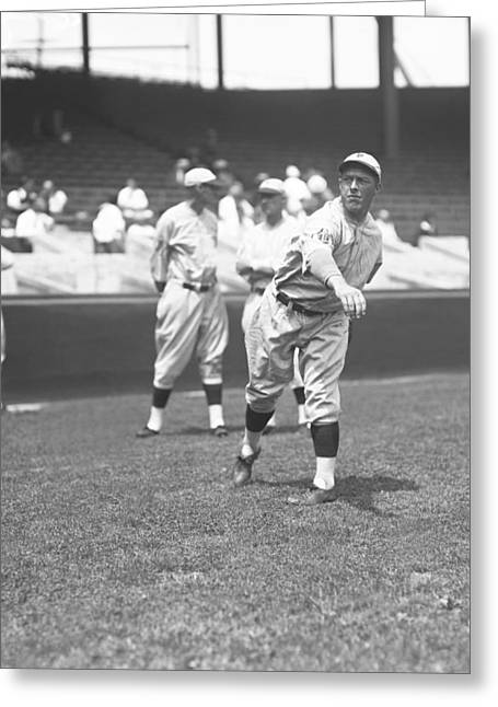 Philadelphia Phillies Stadium Greeting Cards - Claude W. Willoughby Greeting Card by Retro Images Archive