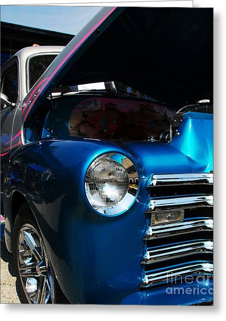 Classic Truck Greeting Cards - Clean And Shiny 1 Greeting Card by Mel Steinhauer