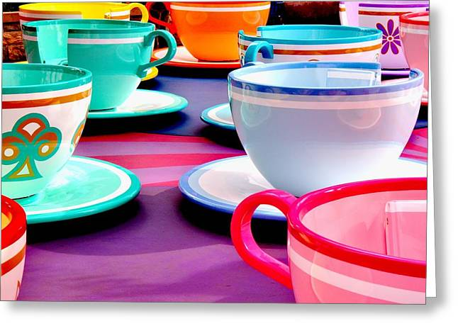 Clean Cup Clean Cup Move Down Greeting Card by Benjamin Yeager