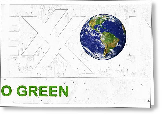 Planet Earth Greeting Cards - Clean Energy Greeting Card by John Stephens