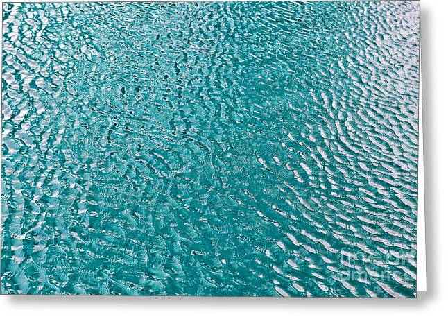 Hydro-jet Greeting Cards - Clean water under sun Greeting Card by Skyfish Images