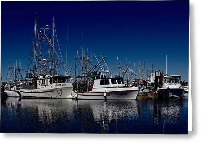 Fishing Creek Greeting Cards - Clear Skies Greeting Card by Randy Hall