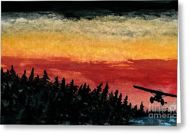 Propeller Paintings Greeting Cards - Clearance  Greeting Card by R Kyllo