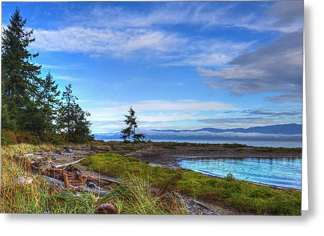 Provincial Park Bc Greeting Cards - Clearing Skies Greeting Card by Randy Hall