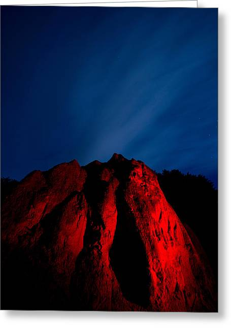 Clearville Greeting Cards - Clearville Rock Greeting Card by Cale Best