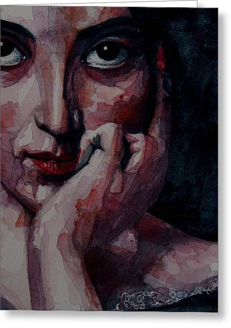 Emotions Greeting Cards - Clementine Greeting Card by Paul Lovering