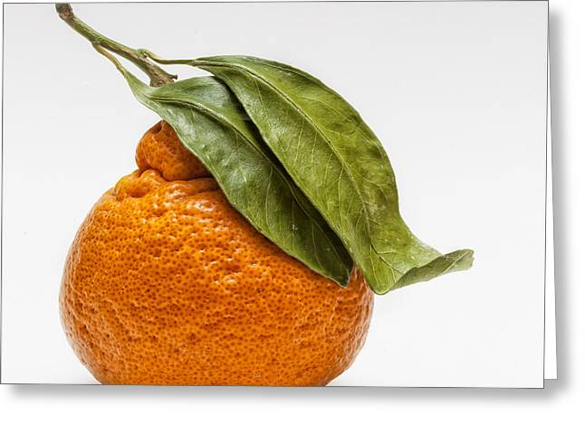 Tangerine Greeting Cards - Clementine Greeting Card by Robert Ullmann