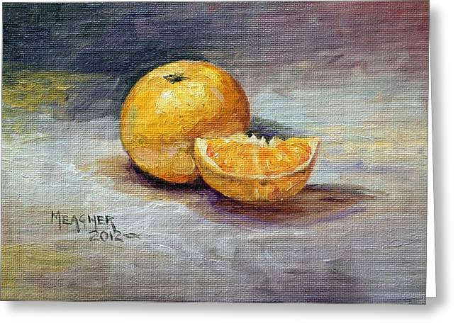 Tangerine Greeting Cards - Cuties Greeting Card by Spencer Meagher
