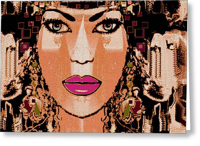 Cleopatra Greeting Card by Natalie Holland