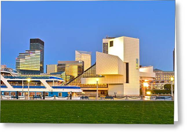 Fame Greeting Cards - Cleveland Icons Greeting Card by Frozen in Time Fine Art Photography
