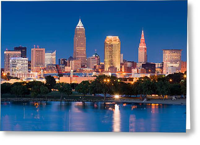 Fame Greeting Cards - Cleveland Ohio Greeting Card by Emmanuel Panagiotakis
