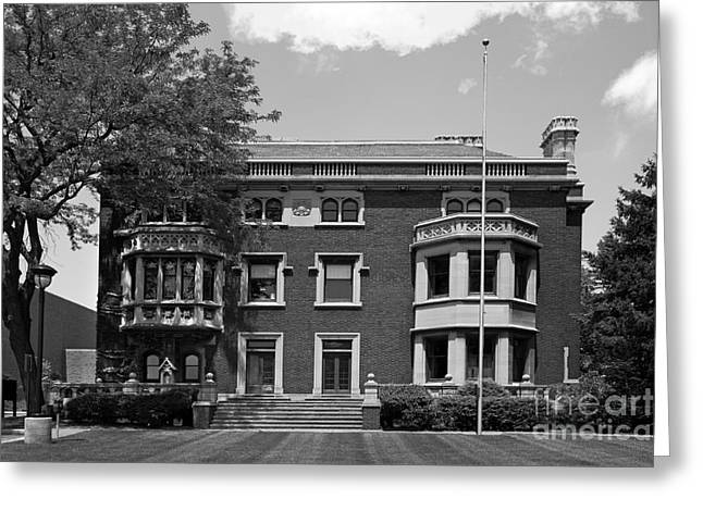 Csu Greeting Cards - Cleveland State University Mather Mansion Greeting Card by University Icons
