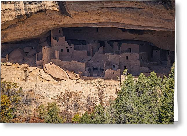 Ancient People Greeting Cards - Cliff Dwelling Greeting Card by Paul Freidlund