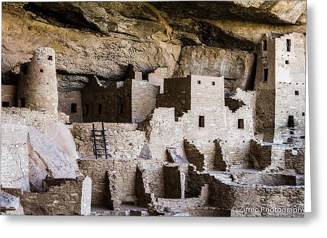 Spider Rock Art Greeting Cards - Cliff Palace 2 Greeting Card by Sully Samartzis