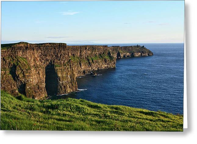 Most Visited Greeting Cards - Cliffs of Moher County Clare Ireland Greeting Card by Aidan Moran