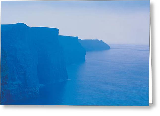 Cliffs Of Moher Greeting Cards - Cliffs Of Moher Ireland Greeting Card by Panoramic Images