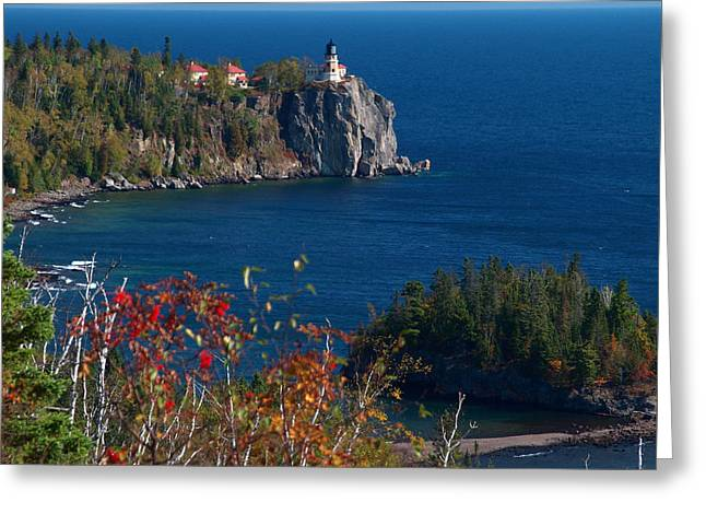 Peterson Nature Photography Greeting Cards - Cliffside Scenic Vista Greeting Card by James Peterson