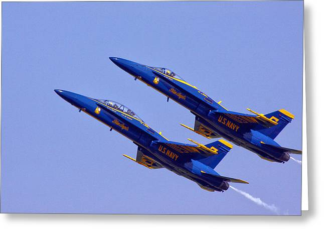 F-18 Photographs Greeting Cards - Climb Greeting Card by Mitch Cat