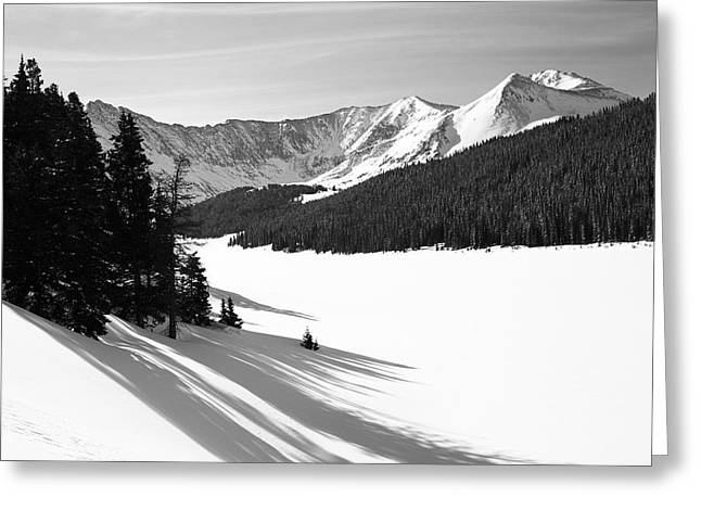 Leadville Greeting Cards - Clinton Gulch Greeting Card by Eric Glaser