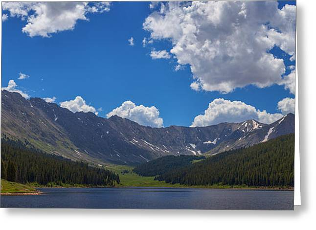 Colorado Mountain Prints Greeting Cards - Clinton Gulch Summer Greeting Card by Darren  White