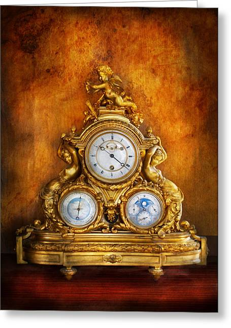 Watchmaker Greeting Cards - Clockmaker - Anyone have the time Greeting Card by Mike Savad
