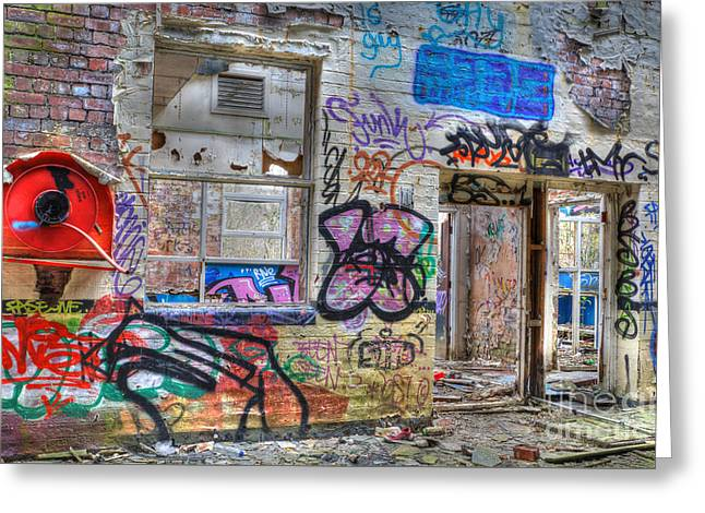 Closed For Business Greeting Card by David Birchall