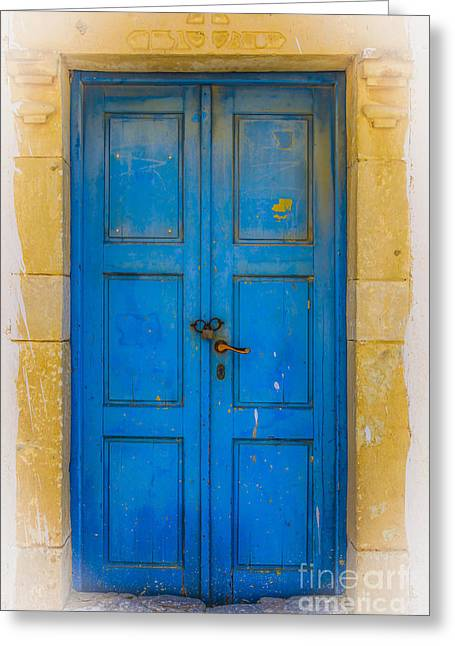 Traditional Doors Greeting Cards - Closed  Greeting Card by Patricia Hofmeester