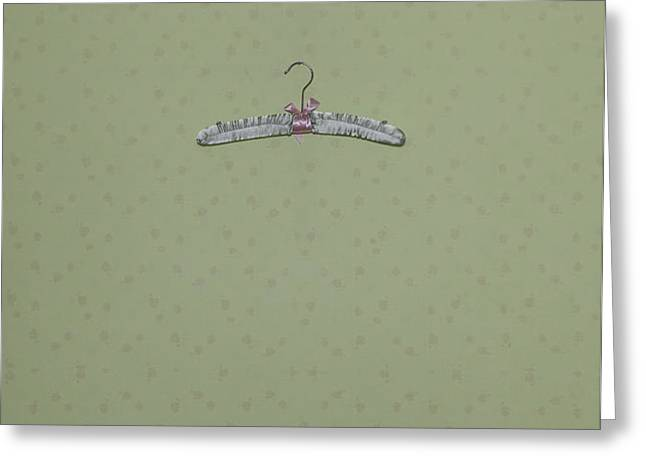 clothes hanger Greeting Card by Joana Kruse