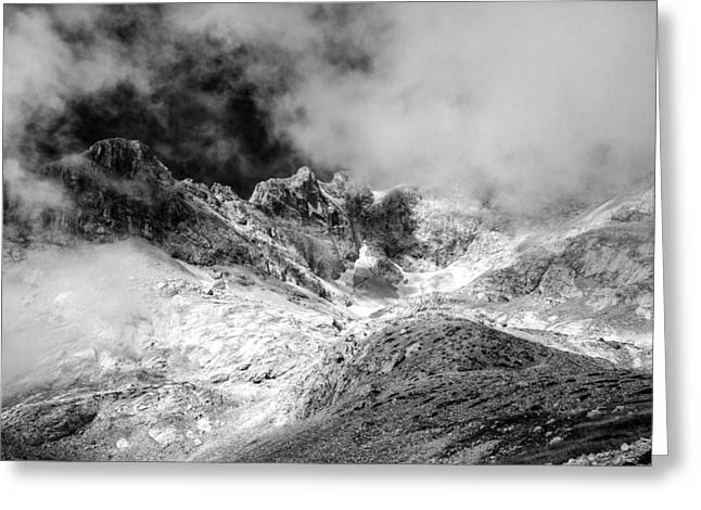 Mountain Valley Greeting Cards - Cloud Burst Greeting Card by Ian Hufton