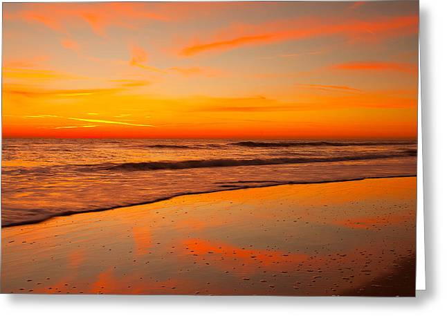 Ocean Art Photography Greeting Cards - Cloud Dance Greeting Card by John Tsumas