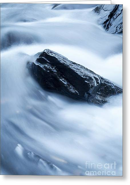 Water Fall Greeting Cards - Cloud Falls Greeting Card by Edward Fielding