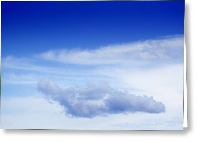 Overcast Day Greeting Cards - Cloud Greeting Card by GP Images